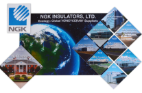 NGK Ceramics 3D Wall Graphics