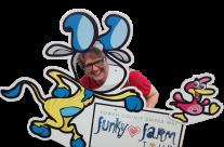 Funky Farm Tour Selfie Cut-Outs