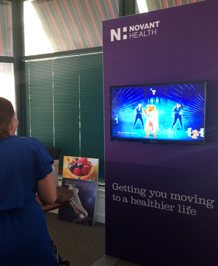Novant Health Interactive Exhibit