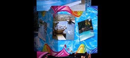 Pool Fun Branding Cubes